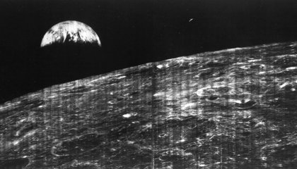 Fifty Years Ago, This Photo Captured the First View of Earth From the Moon