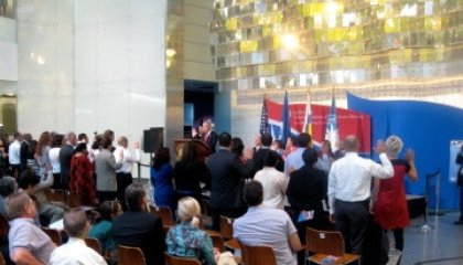 Twenty-Six New Citizens Naturalized at the American History Museum