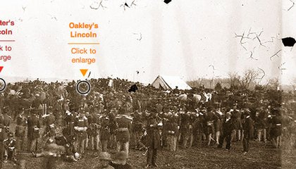 Interactive: Seeking Abraham Lincoln at the Gettysburg Address