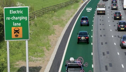 England Is Going to Test Roads That Actually Charge Electric Cars