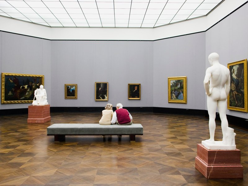 People at Museum
