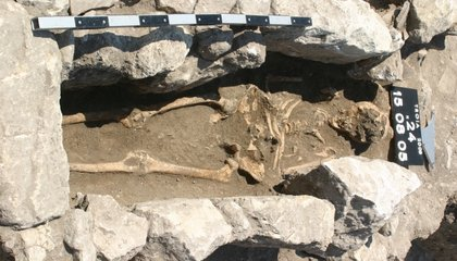 """Remains From 800-Year-Old """"Trojan Woman"""" Record Early Maternal Infection"""