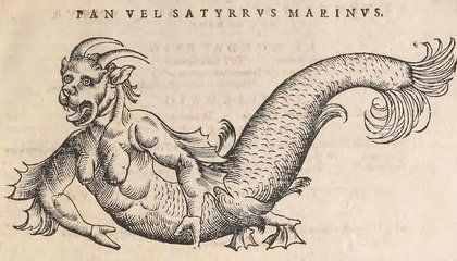 "Five ""Real"" Sea Monsters Brought to Life by Early Naturalists"