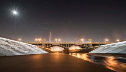 A New Installation Turns the L.A. River Into Art