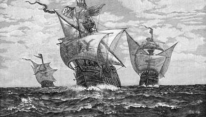 Wreckage of Christopher Columbus' Santa Maria Found off Haitian Coast (Maybe)