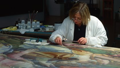Inside the Italian Art Hospital That Rescues Old Paintings