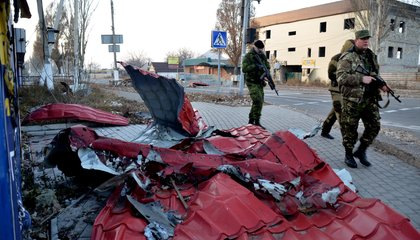 Russian Tanks And Troops Are Pouring Into Ukraine, Says NATO