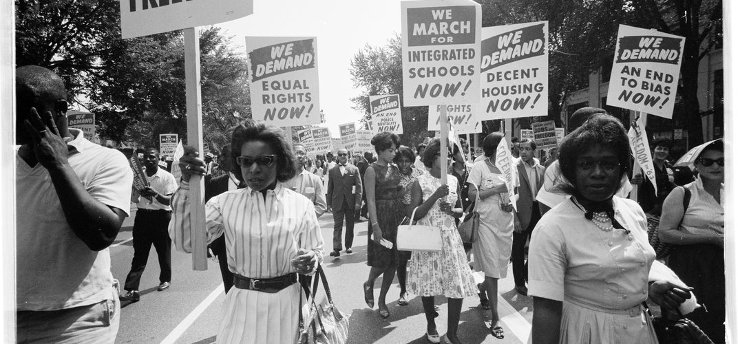 March on Washington, August 1963. Credit: Warren K. Leffler, Library of Congress