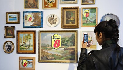 Super 8 Said Farewell to Its Kitschy Motel Art With a Gallery Show