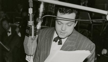 FDR Had a Famous Ghostwriter: Orson Welles