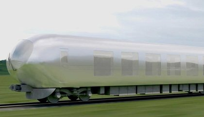 """Japan Is Getting """"Invisible"""" Trains That Blend into the Landscape"""