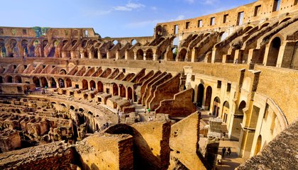 Evidence of a Seating Plan Discovered at the Colosseum
