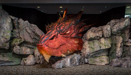 Smaug the Dragon And Other Unexpected Airport Surprises