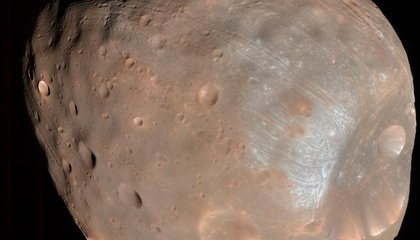 NASA Spacecraft Has Close Call With One of Mars' Moons