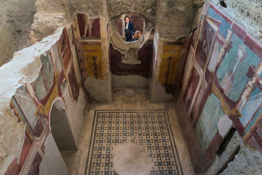 Houses in pompeii project