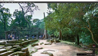 For the First Time Ever, Explore Angkor Wat With Google Street View