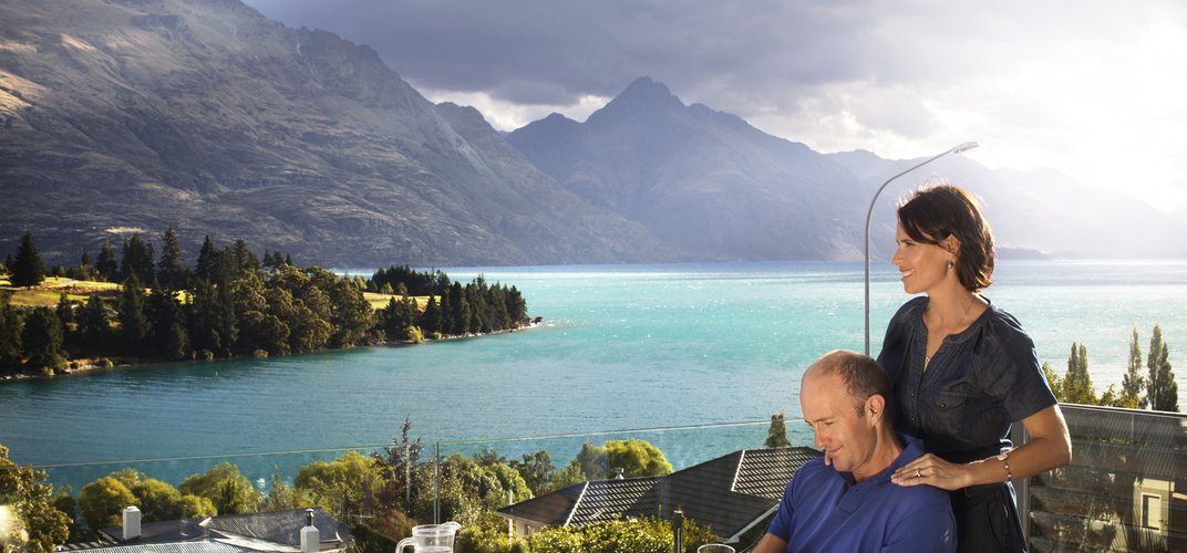 Looking out over Queenstown Credit: Chris Sisarich/Tourism New Zealand