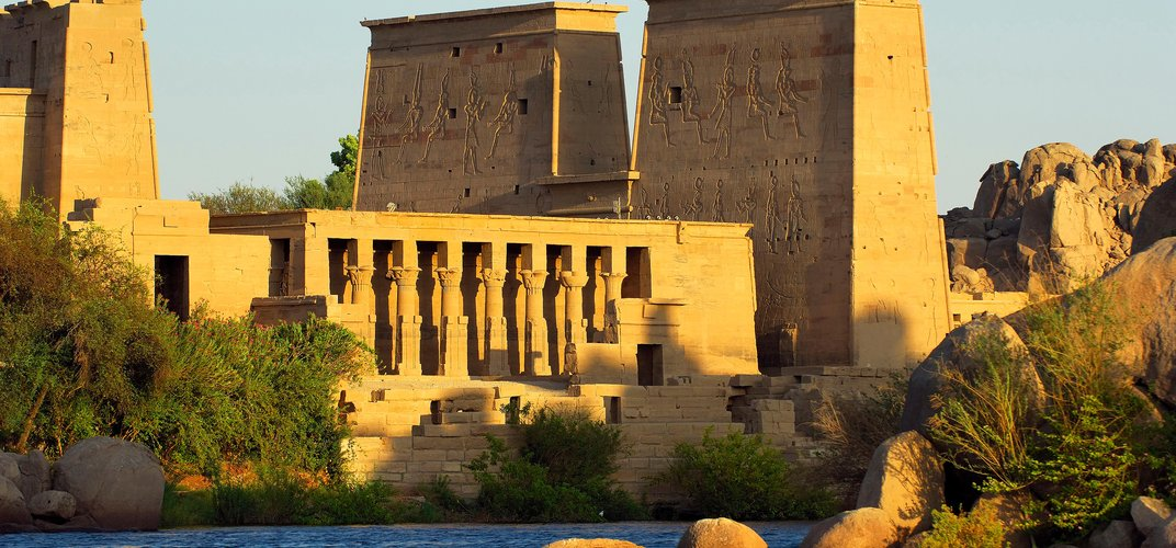 Philae Temple at Aswan. Credit: Egyptian Tourism