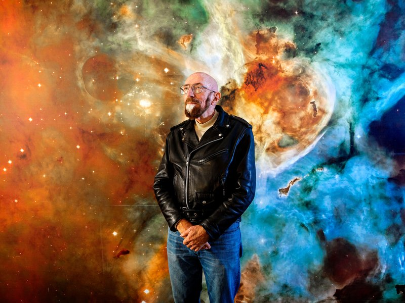 Astrophysicist Kip Thorne