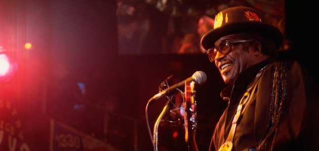 Bo Diddley on Stage