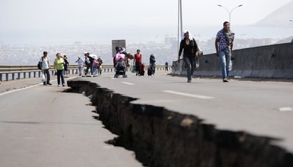 Lingering Stress Hints at the Next Giant Earthquake in Chile