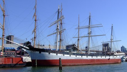An 1885 Ship Just Sailed Back to New York City