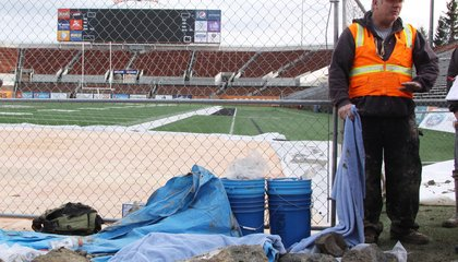 Construction Crews Discover Mammoth Bones Beneath an Oregon Football Stadium