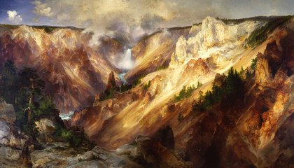 A Thomas Moran Masterpiece Returns to American Art