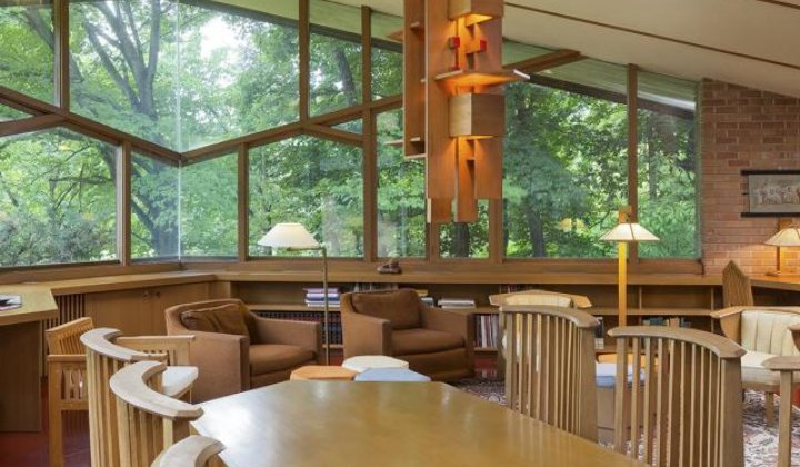 Home Designed by Frank Lloyd Wright Is For Sale
