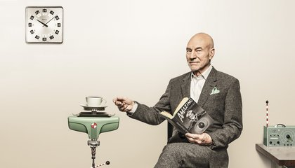 Patrick Stewart on His Craft, 21st-Century Science and Robot Ethics