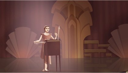 Today's Google Doodle Celebrates Electronic Music Pioneer Clara Rockmore