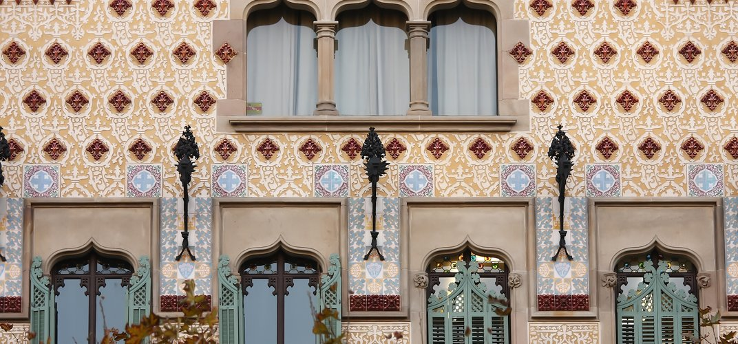 Older architectural style of Barcelona