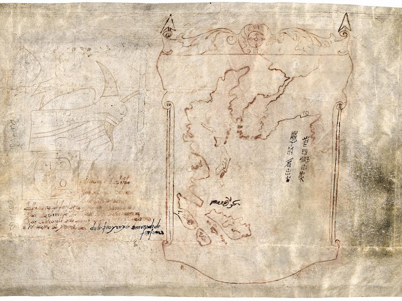 Did Marco Polo Discover America? Map