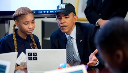 The First Piece of Code Written by an American President