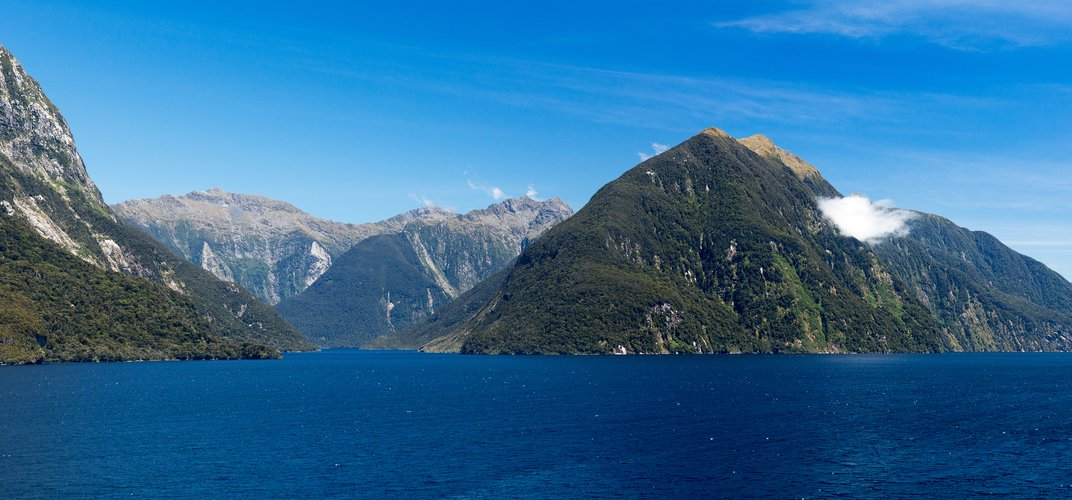 View of Doubtful Sound from the water