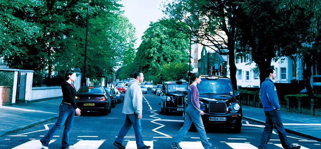 The Beatles' Abbey Road album still draws fans to the location years after the photo was taken. Credit: London On View