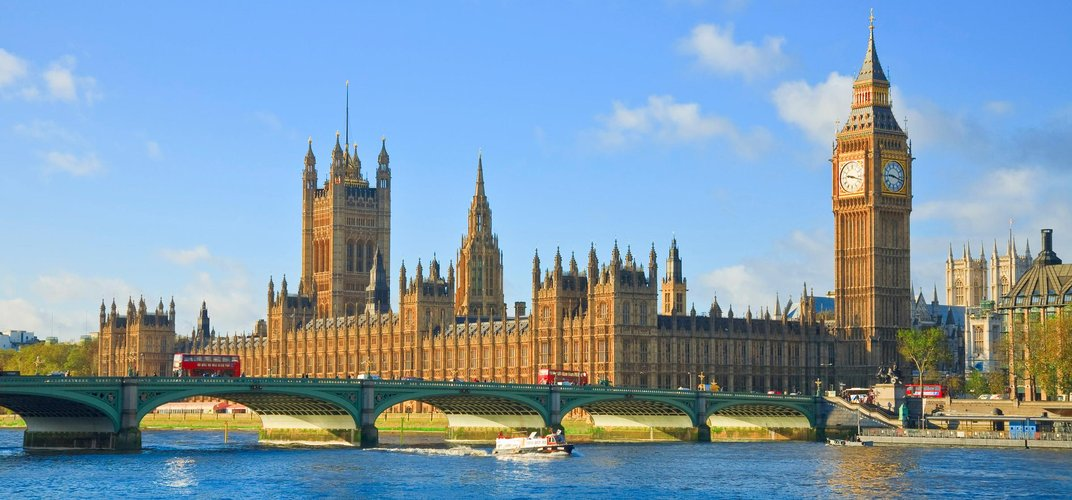London's Houses of Parliament and Big Ben Tower. Credit: London On View