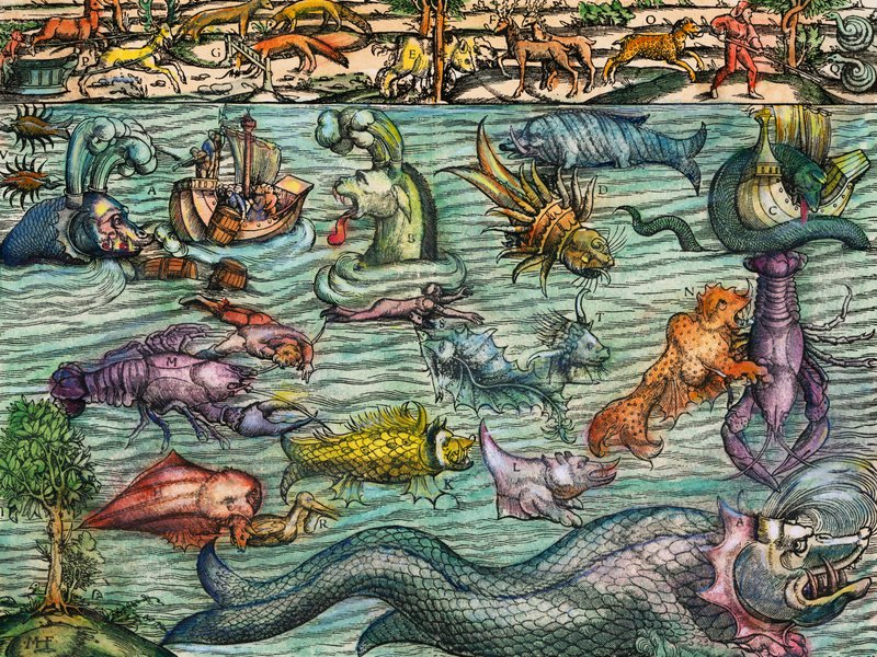 mythical sea monsters