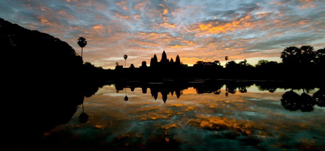 Sunrise over Angkor Wat, Cambodia.  Credit: Florian Christian