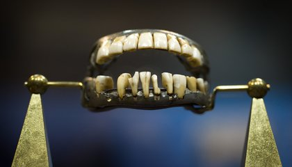 George Washington Didn't Have Wooden Teeth—They Were Ivory