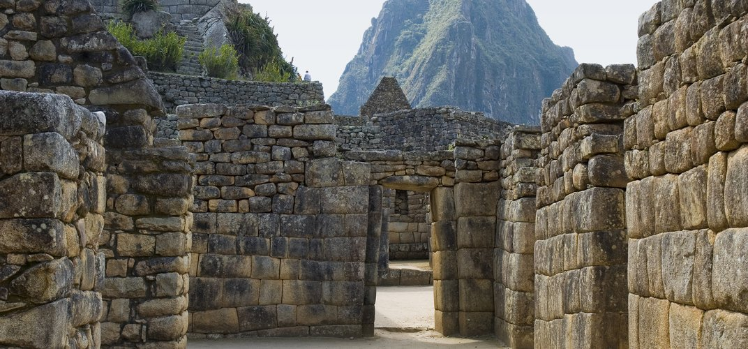 Exploring the site of Machu Picchu in Peru