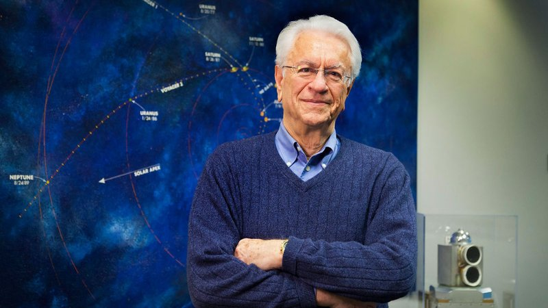 Tom Krimigis, planetary scientist at the Johns Hopkins University Applied Physics Laboratory.