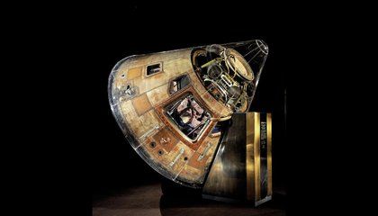 A New Look Inside the Apollo 11 Spacecraft Reveals A Few Surprises