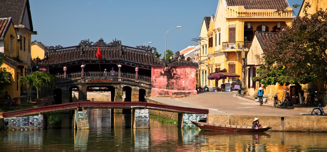 The village of Hoi An, a World Heritage site