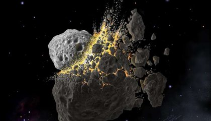 Ancient Asteroid Collision Is Still Raining Space Rocks Down on Earth