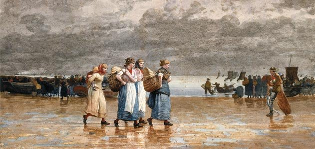 Four Fishwives, 1881