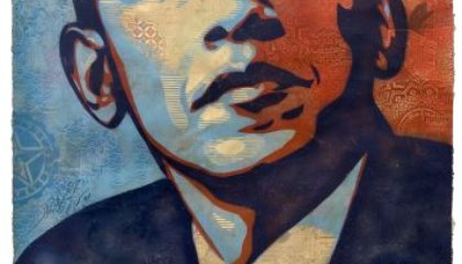 UPDATED: Iconic Obama Portrait at National Portrait Gallery