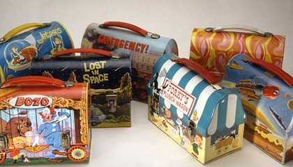 Going to Lunch in Style with Historic Lunchboxes