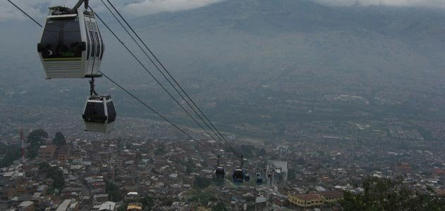 Medellin metro cable system