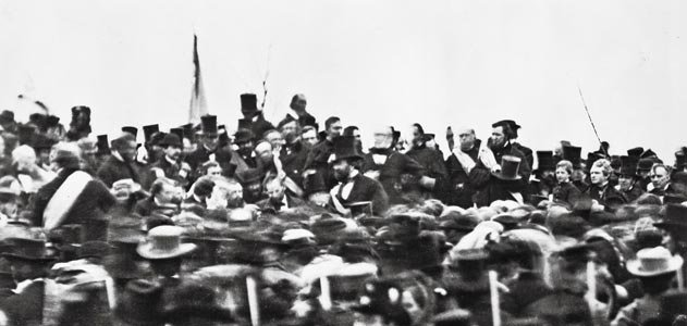 Abraham Lincoln at Gettysburg